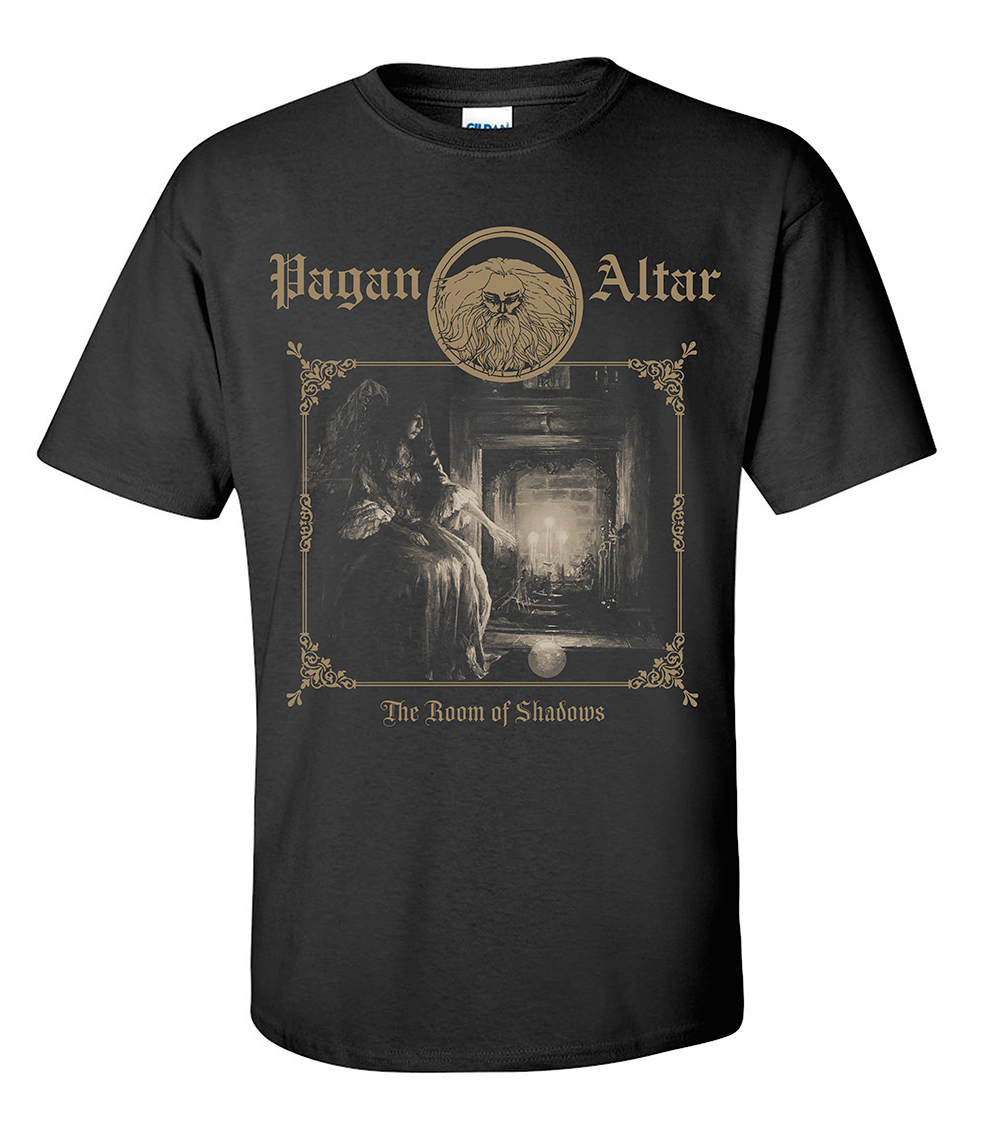 "b440d26b42ae1 Pagan Altar ""The Room of Shadows"" X-LARGE T-shirt 