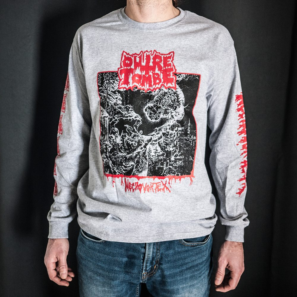 55bb6fcdc2a OUTRE-TOMBE – Nécrovortex Longsleeve (M)