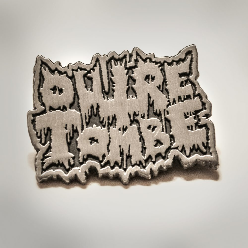 6887cda738e6bd Outre-Tombe metal pin | Temple of Mystery Records