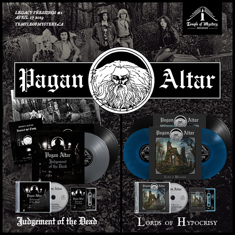 """PAGAN ALTAR """"Judgement…"""" and """"Lords of Hypocrisy"""" out now + North"""